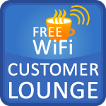 Customer Lounge with Free WiFi